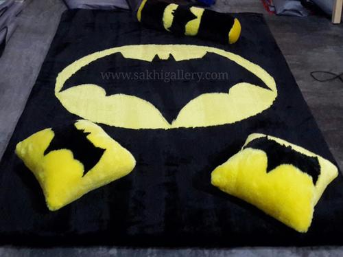 Karpet gambar logo batman