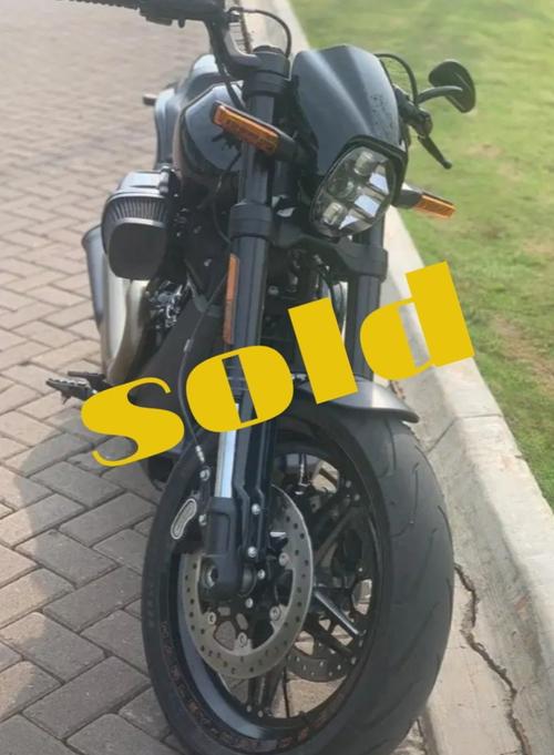 Harley Davidson FXDR 2020 baru 600km