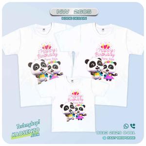 Baju Kaos Couple Keluarga Baby Bus | Kaos Family Custom | Kaos Baby Bus - NW 2605