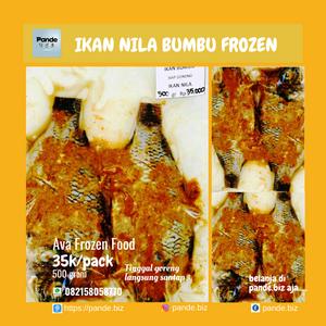 Ikan Nila Bumbu Frozen