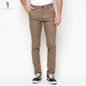 Coffee Long Chino Pants