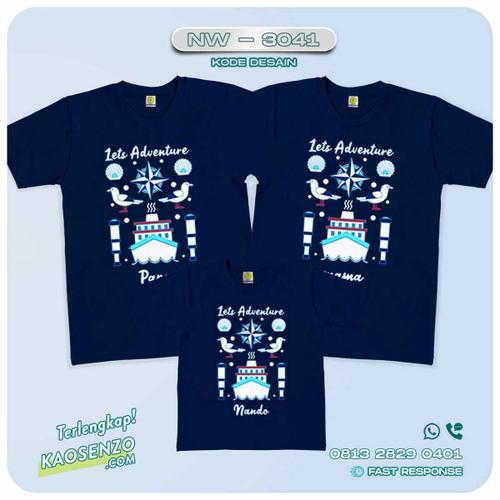Baju Kaos Couple Keluarga Sailor | Kaos Family Custom | Kaos Sailor - NW 3041