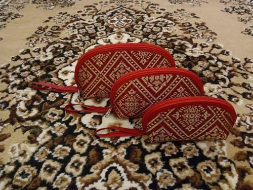 Dompet Kerang Ekslusif 3 in 1 Red