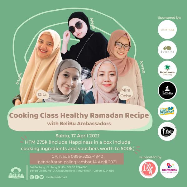 "Event ""Healthy Ramadan with Belibu"""