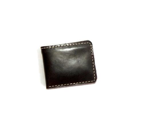 Dompet Kulit Asli Pria Premium Bifold Pendek - Milan Dark Brown Glossy