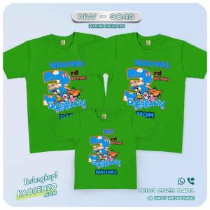 Baju Kaos Couple Keluarga Doraemon | Kaos Family Custom | Kaos Doraemon - NW 3049
