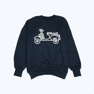 Scooter Basic Sweater - Navy