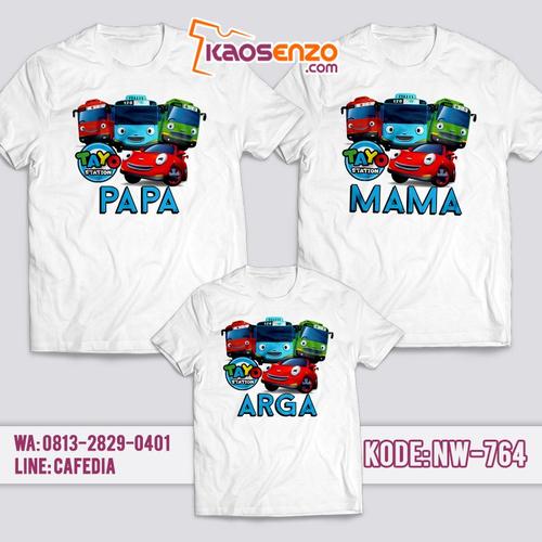 Baju Kaos Couple Keluarga | Kaos Family Custom | Kaos Tayo - NW 764