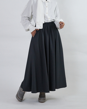 Allese Skirt | Charcoal Grey | Saoirse Collection