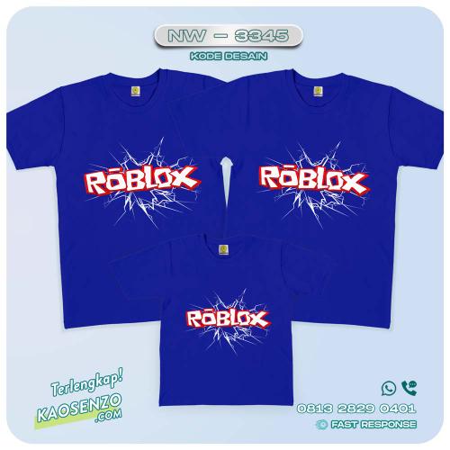 Baju Kaos Couple Keluarga Roblox   Kaos Family Custom   Kaos Roblox - NW 3345