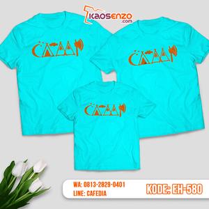 Baju Kaos Couple Keluarga | Kaos Family Custom Motif Camp - EH 580