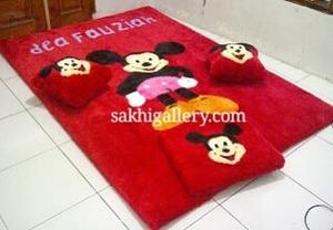 Karpet mickey anak