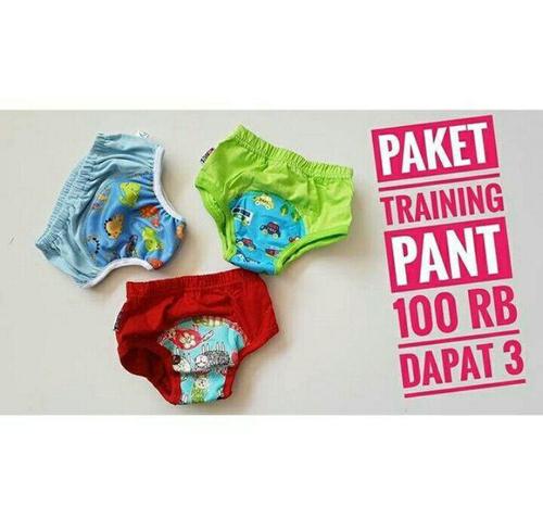 Paket Training Pant 2 Klodiz 1 Velve