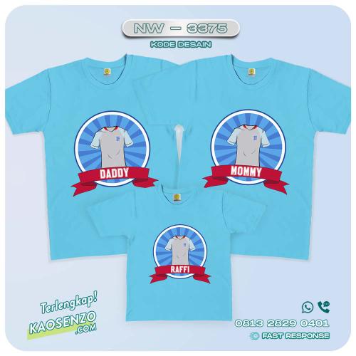 Baju Kaos Couple Keluarga | Kaos Family Custom | Kaos Bola | Euro 2020 - NW 3375