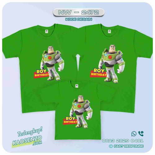 Baju Kaos Couple Keluarga Toy Story | Kaos Family Custom | Kaos Toy Story - NW 2472