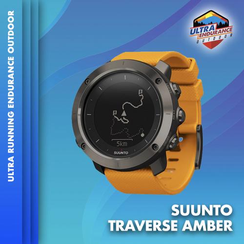 Jam Tangan Suunto Traverse Amber Smart Outdoor GPS Watch Garansi Resmi Suunto Indonesia