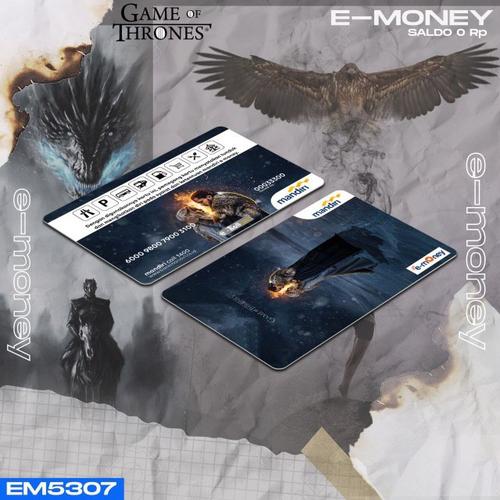 E-MONEY CUSTOM SALDO RP 0 | Edisi Game Of Thrones