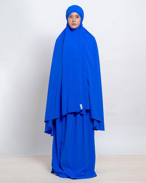 Mukena Hana Palace Blue | ARCADIAN | GADIZA