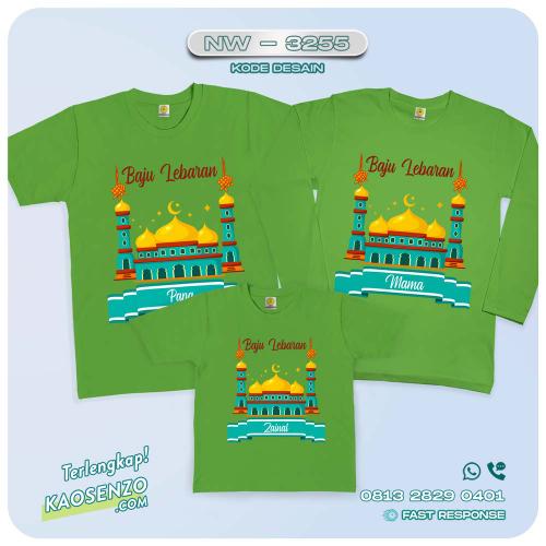 Baju Kaos Couple Keluarga Lebaran | Kaos Family Custom | Kaos Lebaran - NW 3255
