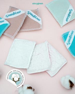 Envygreen Reusable Cotton Pads 5pcs