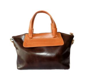 Tas Kulit Asli Wanita Handbag + Tali Selempang - Bella