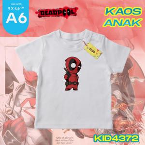 Kaos Anak Custom | Edisi DedPool