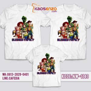 Baju Kaos Couple Keluarga Toy Story | Kaos Family Custom | Kaos Toy Story - NW 1143