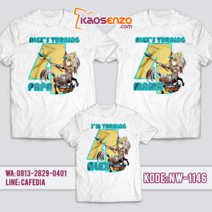 Baju Kaos Couple Keluarga Mobile Legends | Kaos Ulang Tahun Anak | Kaos Mobile Legends - NW 1146