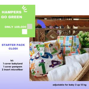 Paket Clodi Starter Pack