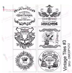 Transfer Paper Vintage Tiles3