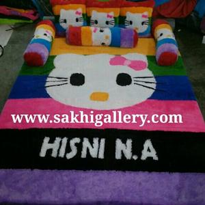 Karpet hello kitty rainbow 1