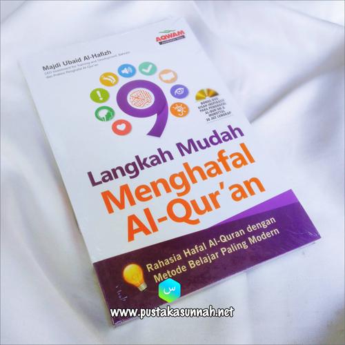 Buku 9 Langkah Mudah Menghafal Al-Quran