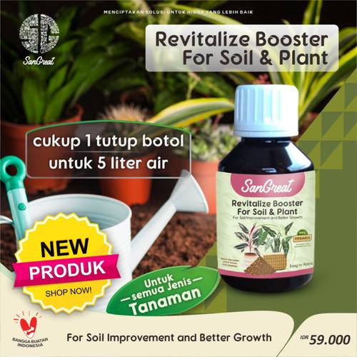 SanGreat Revitalize Booster For Soil & Plant Serum 100 ml