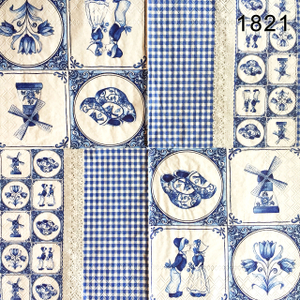 Lunch Napkin Kode 1821