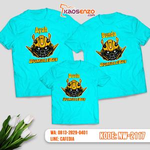 Baju Kaos Couple Keluarga Transformers | Kaos Family Custom | Kaos Transformers - NW 2117