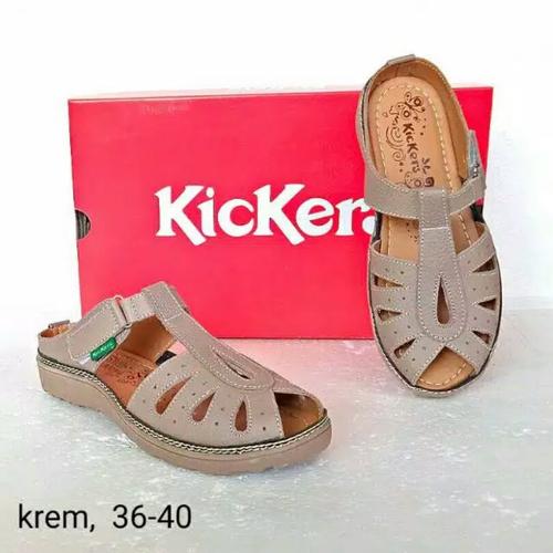 Kickers Tan Casual (Wanita) - Krem