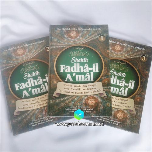 Buku Shahih Fadhail Amal 1 Set 3 jilid