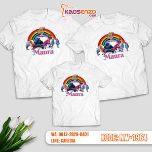 Baju Kaos Couple Keluarga Trolls | Kaos Ultah Anak | Kaos Trolls - NW 1964