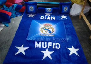 Karpet real madrid printing