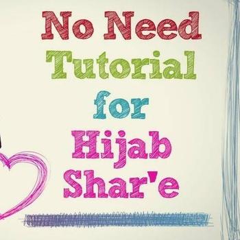 Lindungi Diri dengan Jilbab Syar'i