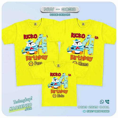 Baju Kaos Couple Keluarga Sailor | Kaos Family Custom | Kaos Sailor - NW 3038