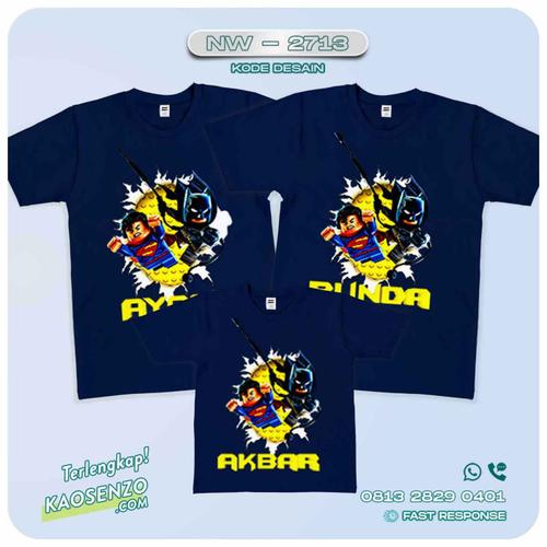 Kaos Couple Keluarga Batman | Kaos Ulang Tahun Anak | Kaos Batman - NW 2713