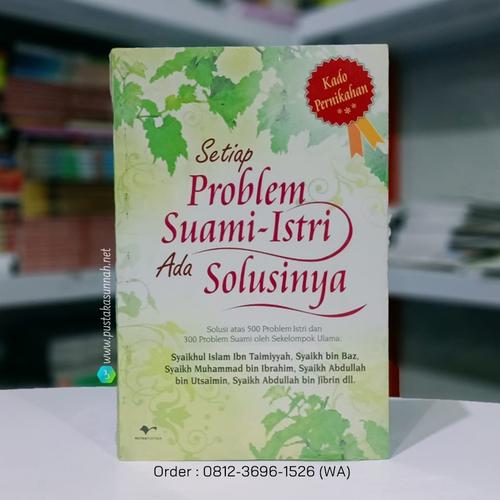 Buku Setiap Problem Suami Istri Ada Solusinya