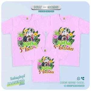 Kaos Couple Keluarga Frozen   Kaos Ulang Tahun Anak   Kaos Frozen - NW 3095