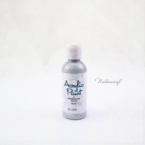 Acrylic Paint Silver 60ml