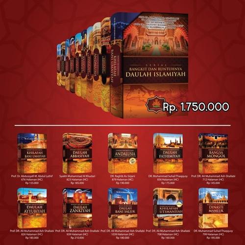 Paket Seri Bangkit & Runtuhnya Daulah Islamiyah