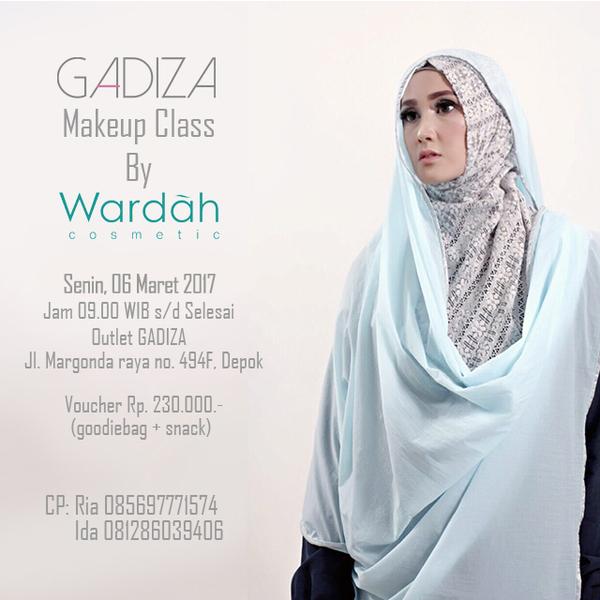 GADIZA Makeup Class by Wardah