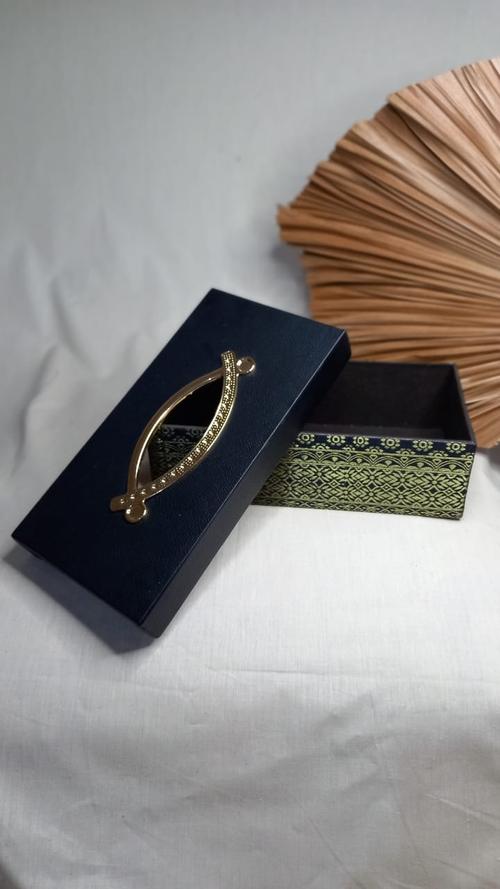 Kotak Tisu Songket Black