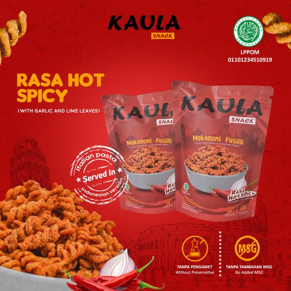 Kaula Makaroni Fusilli - Hot Spicy