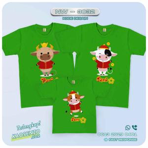 Baju Kaos Couple Keluarga Imlek | Kaos Family Custom | Kaos Imlek - NW 3032